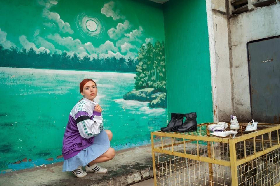 Поліна Карпова. Фото з серії Pretty Ghetto, 2015.